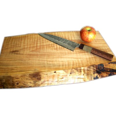 Buyers Choice Artisans Domestic Curly Maple Rectangular Serving Tray