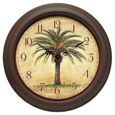 Infinity Instruments Cabana Decorative Wall Clock