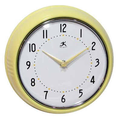 Infinity Instruments Retro Wall Clock in Aura