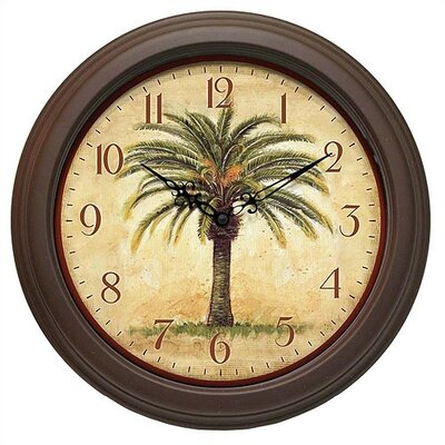 Cabana Decorative Wall Clock