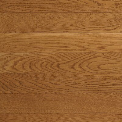 "Somerset Floors Value Strip 3-1/4"" Solid White Oak Flooring in Vintage Brown"