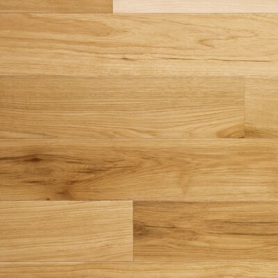 "Somerset Floors Character 3-1/4"" Engineered Hickory Flooring in Natural"