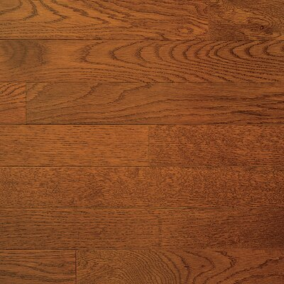 "Somerset Floors Color Plank 5"" Engineered White Oak Flooring in Gunstock"