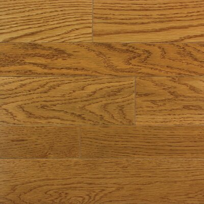 "Somerset Floors Homestyle 2-1/4"" Solid White Oak Flooring in Butterscotch"
