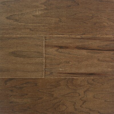 "Somerset Floors Southern Antiques 5"" Engineered Hickory Flooring in Smokehouse"