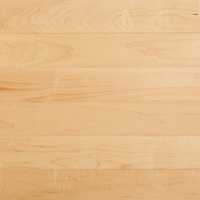 "Somerset Floors Specialty 3-1/4"" Engineered Maple Flooring in Natural"