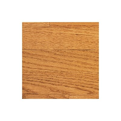 "Somerset Floors Color Strip 2-1/4"" Solid Red Oak Flooring in Golden"