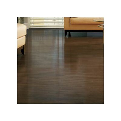 "Somerset Floors Value Strip 2-1/4"" Solid White Oak Flooring in Dark Chocolate"