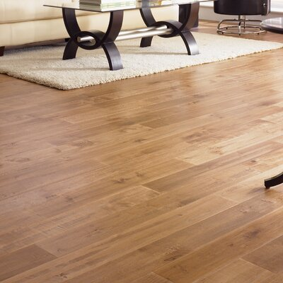"Somerset Floors American Country 5"" Solid Maple Flooring in Desert Tan"