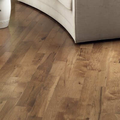 Character 5 Engineered Hickory Flooring In Hickory Saddle