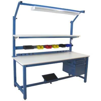 Bench Pro Kennedy 6,600 lb Capacity Workbench with Stainless Steel Top