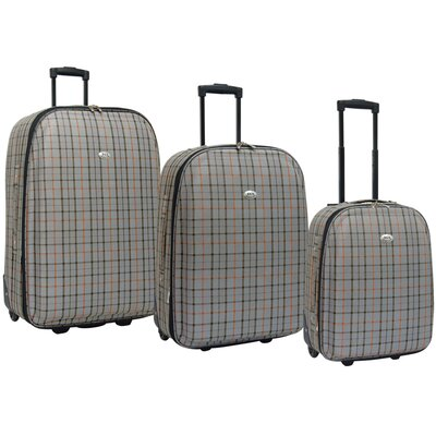 Villa 3 Piece Expandable Rolling Luggage Set