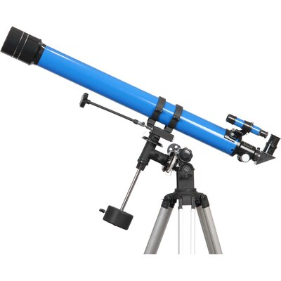 900x70 Refractor Telescope in Blue