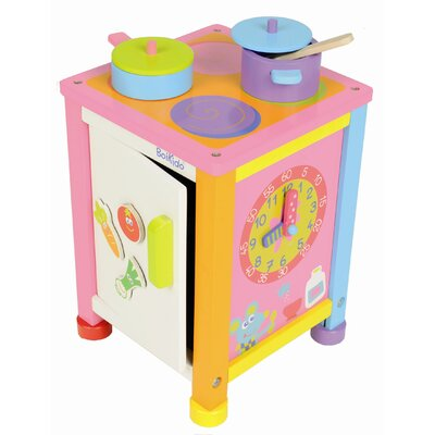 Boikido 4 Piece Wooden Kitchenette Set