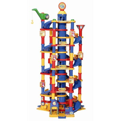 Wader Quality Toys Children's Parking Tower with 13 Floors and 2 Cars