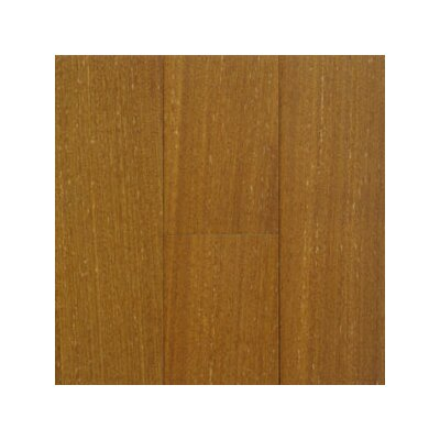 "Hawa Bamboo Exotic 3-5/8"" Solid Teak Flooring in Natural"
