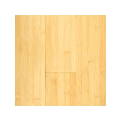 "Hawa Bamboo Prefinished Horizontal 3-3/4"" Solid Bamboo Flooring in Natural Matte"