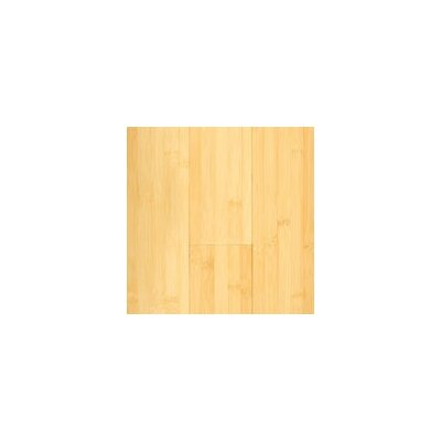 "Hawa Bamboo Horizontal 5-3/8"" Engineered Bamboo Flooring in Natural Matte"
