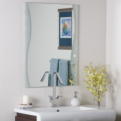 Decor Wonderland Frameless Maritime Wall Mirror