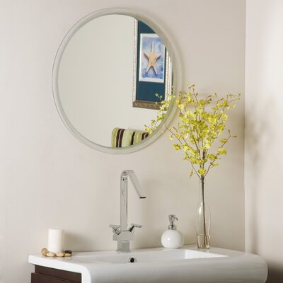 Decor Wonderland Frameless Beveled Karnia Mirror