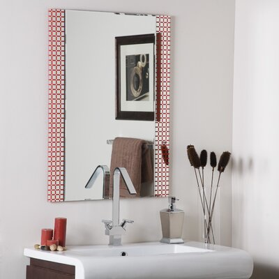 Decor Wonderland Cirque Frameless Mirror