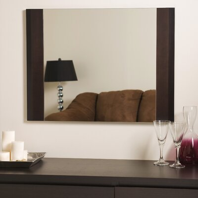 Decor Wonderland Frameless Chase Wall Mirror
