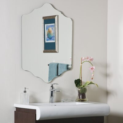 Decor Wonderland Vandam Frameless Wall Mirror