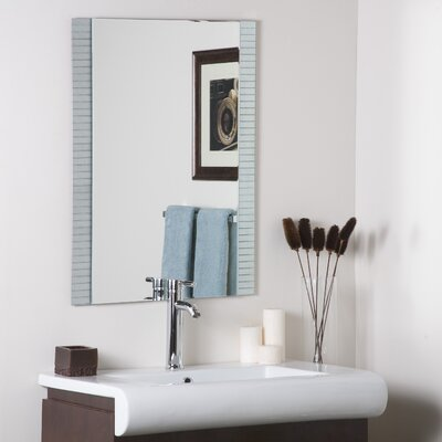 Decor Wonderland Sam Frameless Wall Mirror