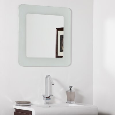 decor wonderland bella modern bathroom mirror