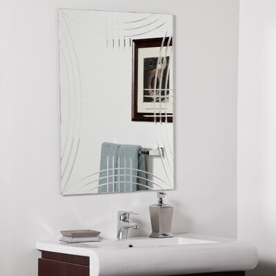 Decor Wonderland Caydon Modern Bathroom Mirror