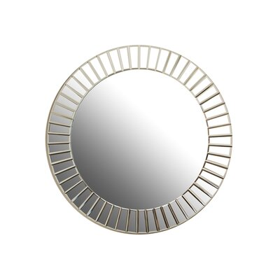 Decor Wonderland Fortune Modern Frameless Beveled Wall Mirror