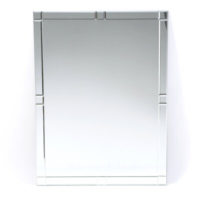 Decor Wonderland Frameless Zebra Mirror
