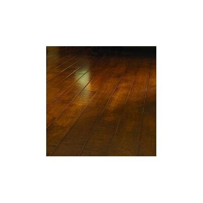 "Virginia Vintage Crossfire 5"" Handscraped Engineered Maple Flooring in Flickering Flames"
