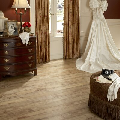 "Virginia Vintage Olde Paint 5"" Engineered Red Oak Flooring in Antique Linen"
