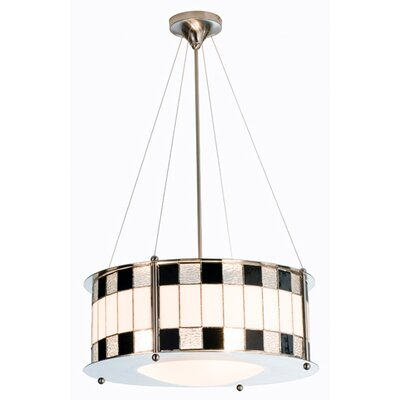 Meyda Tiffany Utopia 3 Light Drum Pendant