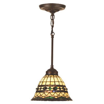 Tiffany Roman 1 Light Mini Pendant