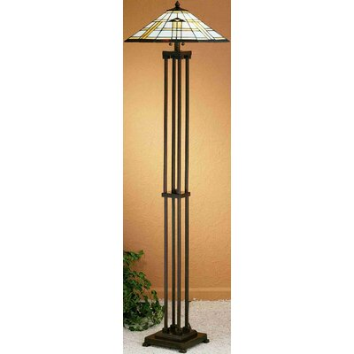 pin mission floor lamp mission style floor lamps mission floor lamp on. Black Bedroom Furniture Sets. Home Design Ideas