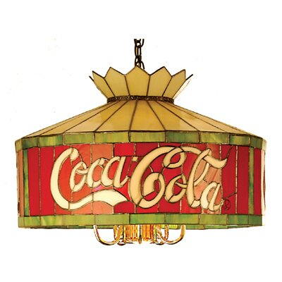 Meyda Tiffany Tiffany 6 Light Coca-Cola Pendant
