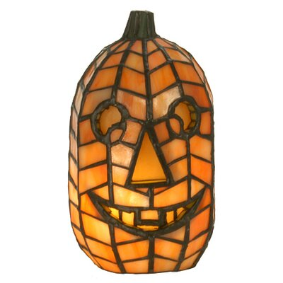 Meyda Tiffany Jack O'Lantern Accent Lamp