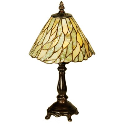 Meyda Tiffany Jadestone Willow Mini Table Lamp
