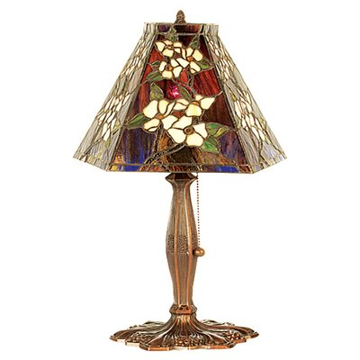 Meyda Tiffany Oriental Peony Table Lamp