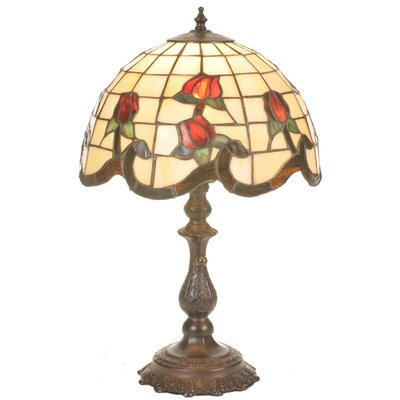 Meyda Tiffany Roseborder Table Lamp
