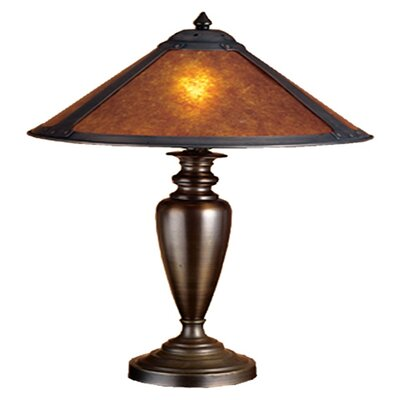 Meyda Tiffany Rustic Van Erp Mica Table Lamp