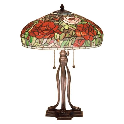 Meyda Tiffany Tiffany Peony Table Lamp