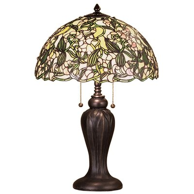 Meyda Tiffany Sweet Pea Table Lamp