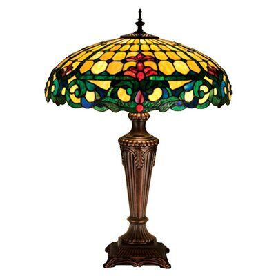 Meyda Tiffany Duffner and Kimberly Colonial Table Lamp