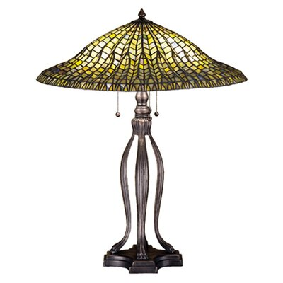 Meyda Tiffany Tiffany Lotus Leaf Table Lamp