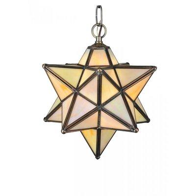 Moravian Star 1 Light Mini Pendant