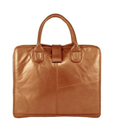 Mimi in Memphis Leather Laptop Briefcase