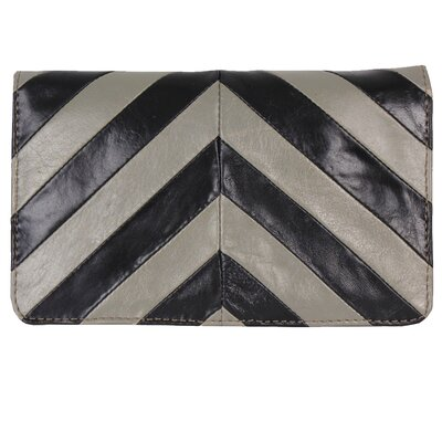 Latico Leathers Chevron Clutch